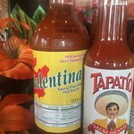 Mexicos favourite hot sauces available to try with your delicious meal, also available for purch