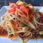 Green Papaya Salad - Som Tum 31 AED (8/10)