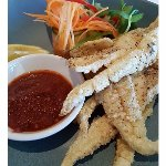 Salt and Pepper Squid with Spicy dipping sauce