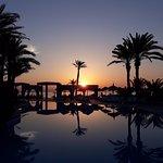 lever du soleil à Zita