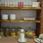 Breakfast stations at Summerset Place
