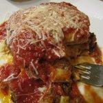 Yum-eee. Lasagna