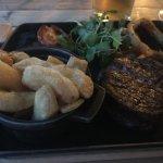 Fillet steak was beautiful