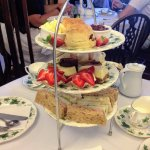 The Empire Afternoon Tea...Delicious!