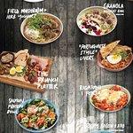 """Primi Piatti """"new"""" breakfast menu 2017."""