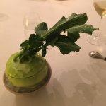 German turnip with apple & Danish oysters