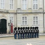 Photo of Changing of her Majesty's guard at Amalienborg Castle