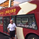 Big Bus Hop On-Off for best overview of Shanghai!