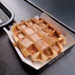Liege waffle (with Speculoos) - get this one!