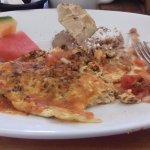 omelete de chorizo