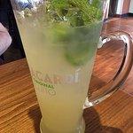 pineapple mojito pitcher, delish!