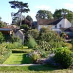The organic walled garden at Parsonage