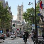 Paris, vue sur la Tour Saint Jacques
