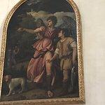 Tiziano en una de las capillas