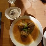 meatballs - also came with extra bread as you couldn't possibly waste a drop of the red curry sa