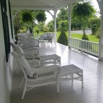 Lots of quiet veranda space to enjoy