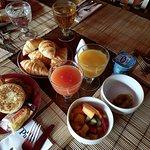 buffet: petit-déjeuner