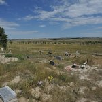Photo of Wounded Knee Massacre Monument