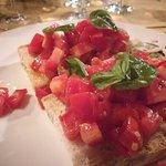 bruschetta con pomodori