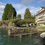 Ein Hotel ditekt am Thunersee