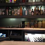 A good selection of local beers and ciders