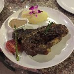 T-Bone Steak 650g with Mashed Potatoes and Pepper Sauce - FLAVOURS Bamboo Park