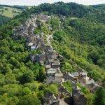 vue sur le village depuis la tour