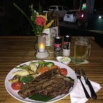 T-Bone Steak 650g with Potatoes and Vegetables - FLAVOURS Bamboo Park