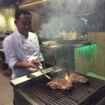 FLAVOURS - Our Chef in action - Bamboo Park Maenam