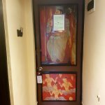 dambulla cave themed door!