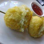 The delicious dumplings