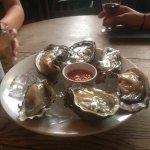 Oysters to start. Wonderfully fresh.
