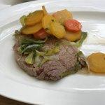 Tafelspitz mit Gemüse-u. Kartoffelscheibchen