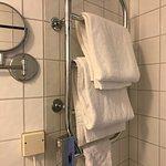 heated towel rack!