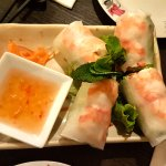 fresh prawn rolls