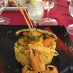 Risotto with fruits of the sea
