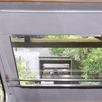 Inside the cliff railway thing