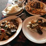 Egg Plant and Appetizer selection