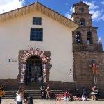 San Blas Church around corner from the hotel.