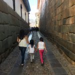 Short 10-15 minute walk from San Blas to Plaza de Armas