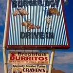 Burger Boy Drive In sign
