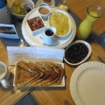 Sumptious breakfast