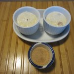 Rice pudding and cinnamon