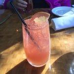 Refreshing grapefruit cocktail.