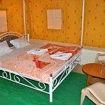 Bed room Swiss tent