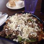 Gyros skillet breakfast at Melita's
