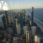 Enjoying the city view of Gold Coast
