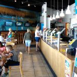 Beach Pizza at Largo Mall...video games for kids along the far wall.
