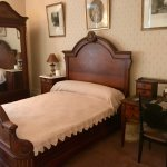 The bed in which FDR was born