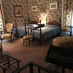 Chintz Room - Apparently the queen slept here